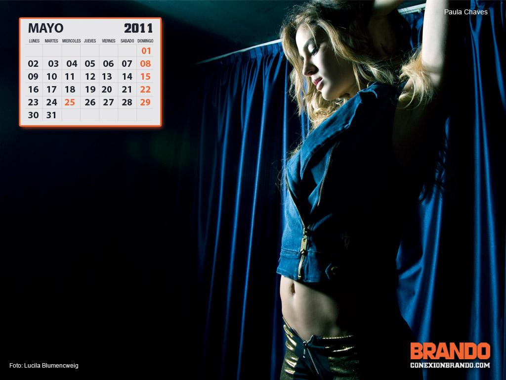 Chica hot de calendario- Mayo Paula Chaves