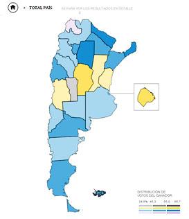 Mapa De Elecciones 2015.Elecciones 2015 Lanacion Com