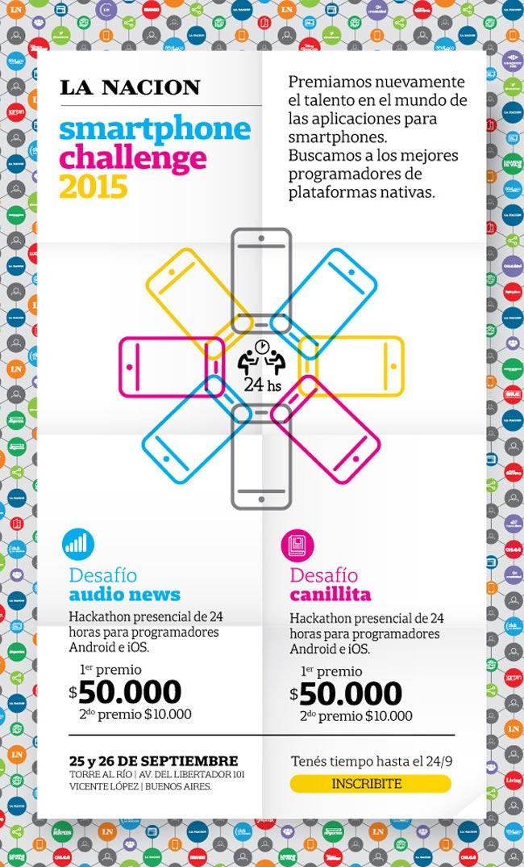 Smarthphone Challenge 2015. Participá.